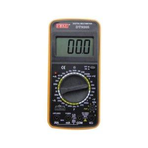 Excel DT9205A Ψηφιακό Πολύμετρο με Μεγάλη Οθόνη