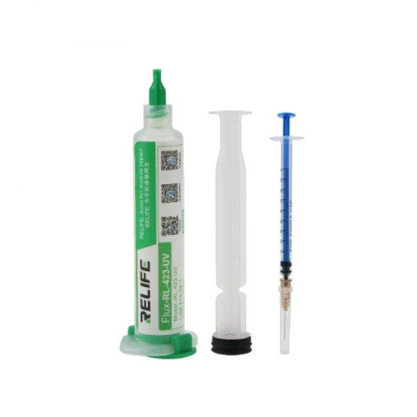 RL-423-UV Σωληνάριο κόλλας χωρίς μόλυβδο [10cc σύριγγα]