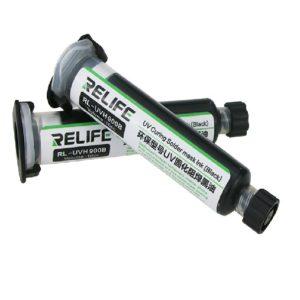 Relife RL-UVH 900B Mελάνι με μαύρη μάσκα συγκόλλησης UV