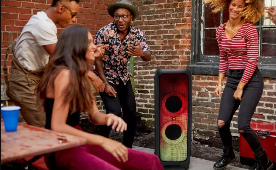 Partybox 1000, Bluetooth Party Speaker w Full Led, DJpad
