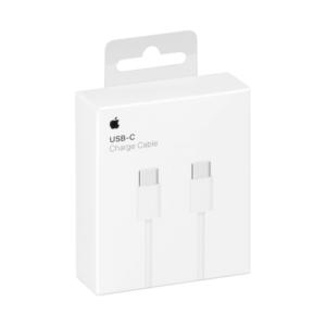 Καλώδιο Φόρτισης Apple USB-C to USB-C Λευκό 1m (MUF72ZMΑ)