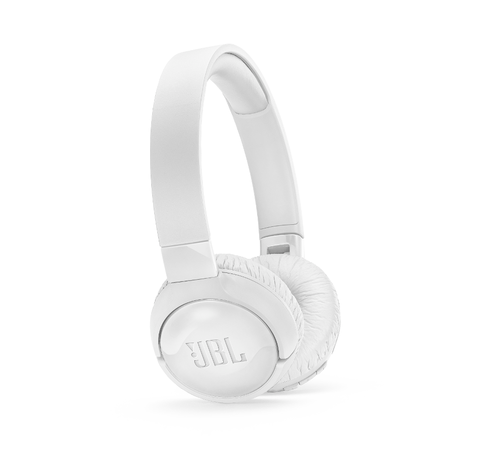 JBL Tune 600NC, OnEar Headphones with Noise Cancelling (White)
