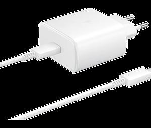 Samsung USB-C Cable & USB-C Wall Adapter 45W Λευκό (EP-TA845XWEGWW)