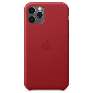 Leather Θήκη Apple με Mag Safe για iPhone 11 (PRODUCT Red)