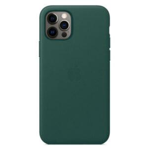 Leather Θήκη Apple με Mag Safe για iPhone 12 Mini (Original) Pine Green (MTES2FE/A)