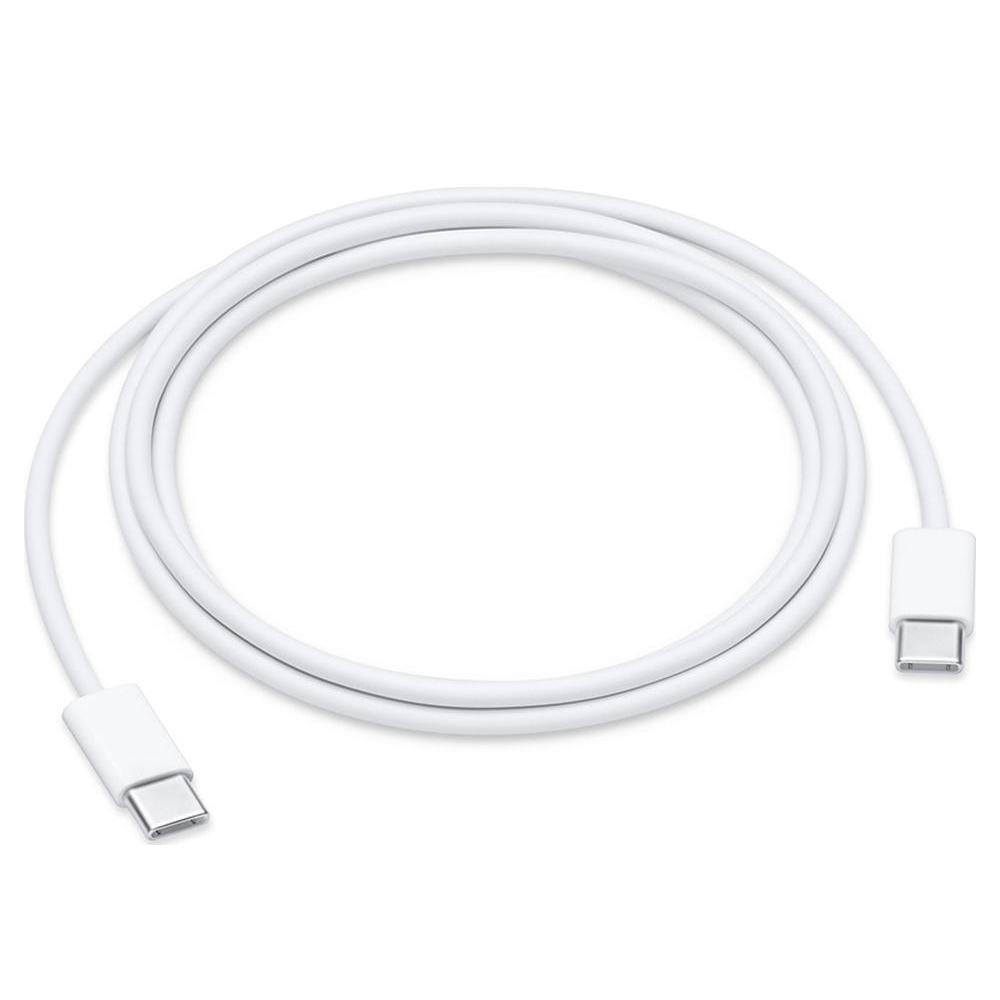 Καλώδιο Φόρτισης Apple USB-C to USB-C Λευκό 1m (MUF72ZM/A)