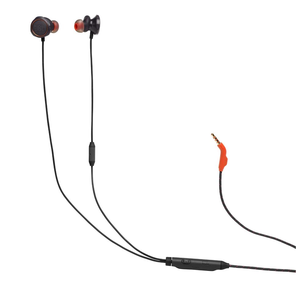JBL Quantum 50, InEar Wired Gaming Headphones (Black)