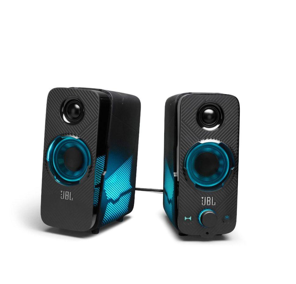 JBL Quantum DUO, Gaming Speaker 2.0, Bluetooth, lighting control