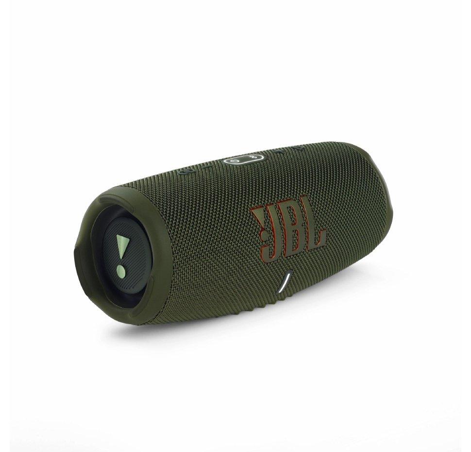 JBL Charge 5, Bluetooth Speaker, Waterproof IPX67, Powerbank, (Green)