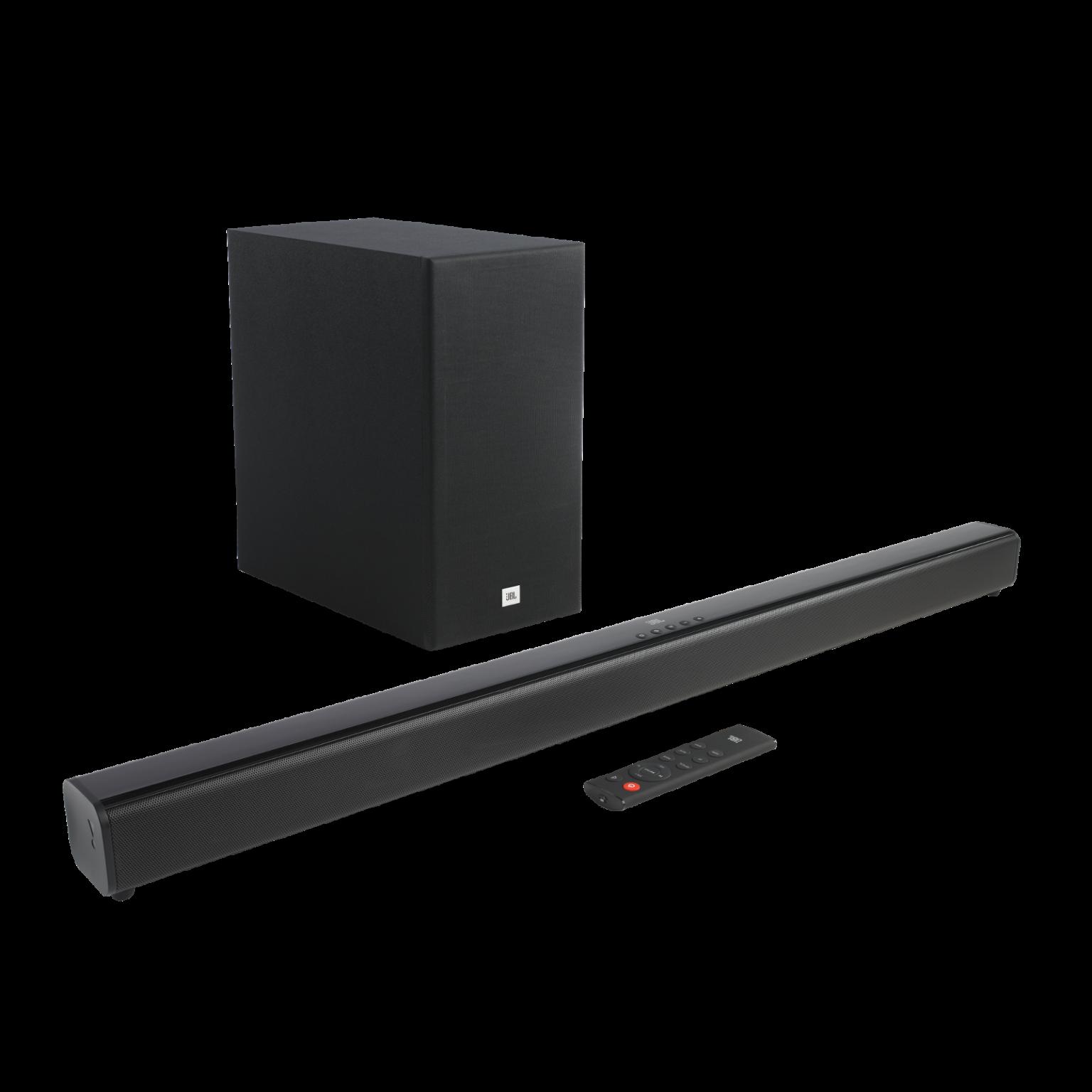 JBL Cinema SB160, Soundbar, Bluetooth, Wireless Subwoofer (Black)