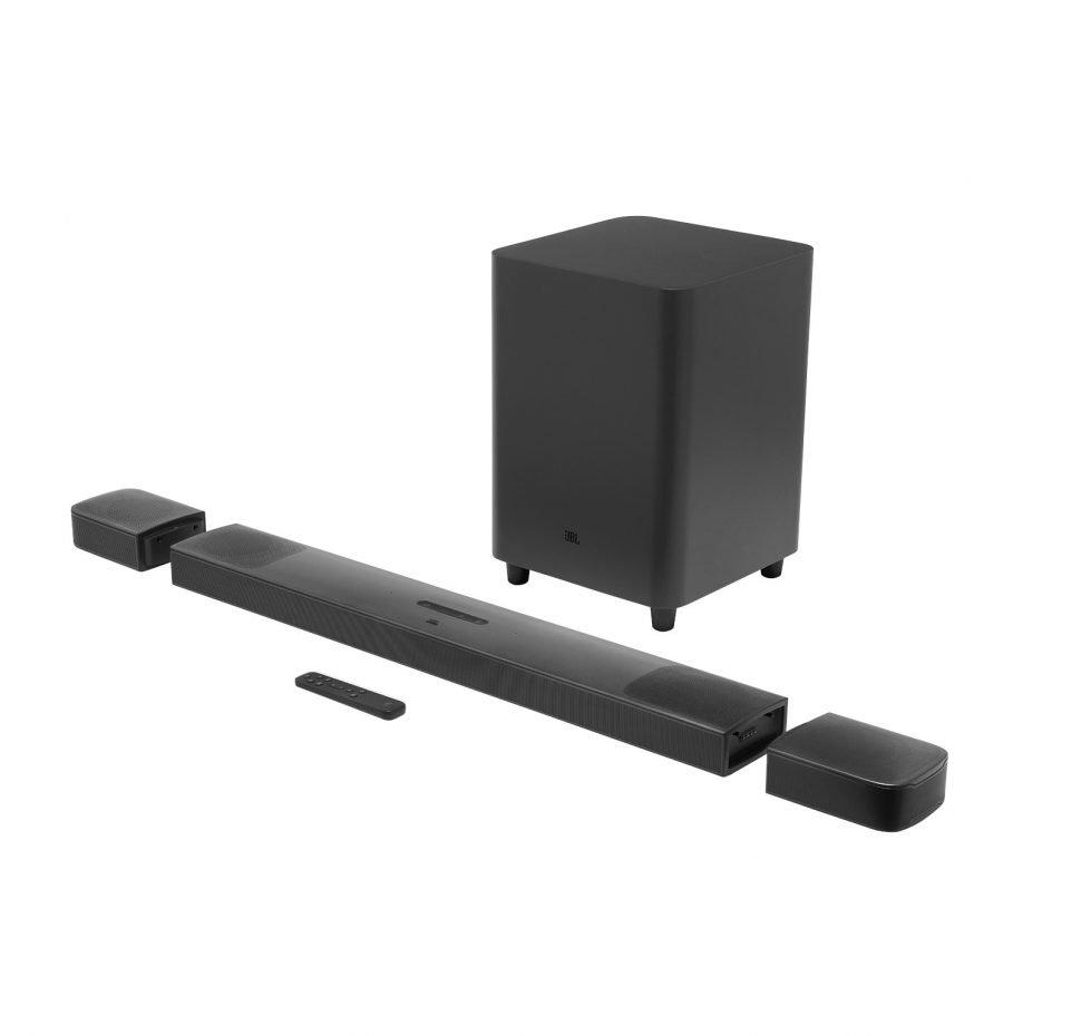 JBL BAR 9.1 True Wireless Surround Soundbar, Dolby Atmos, Wireless Subwoofer, Bluetooth