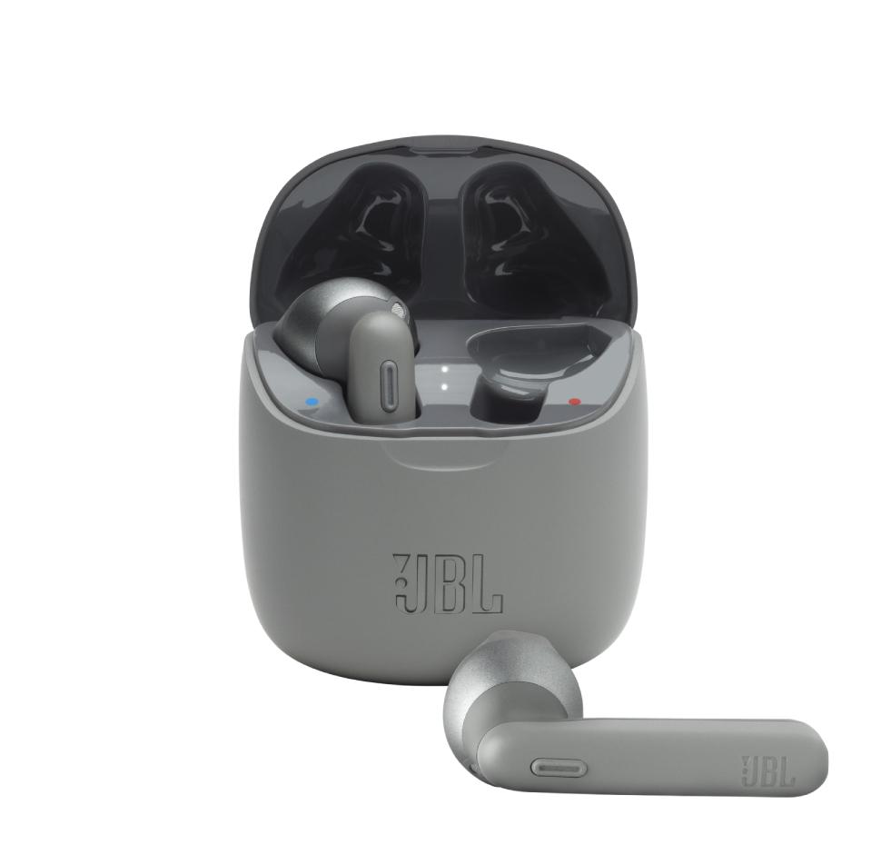 JBL Tune 225TWS, True Wireless Ear-Buds Headphones, (Grey)