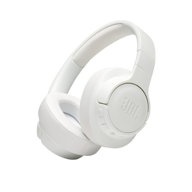 JBL Tune 700BT, Over-ear Bluetooth Headphones, Multipoint (White)