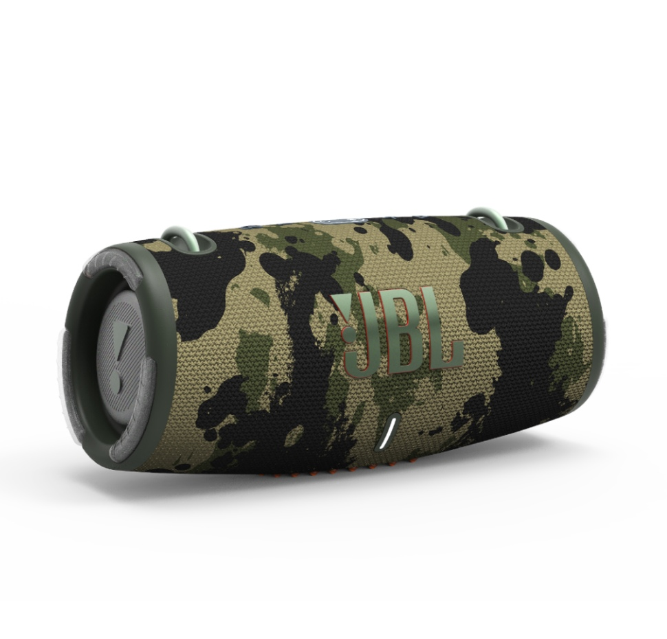 JBL Xtreme 3, Bluetooth Speaker, Waterproof IP67, Carry Strap (Camo)