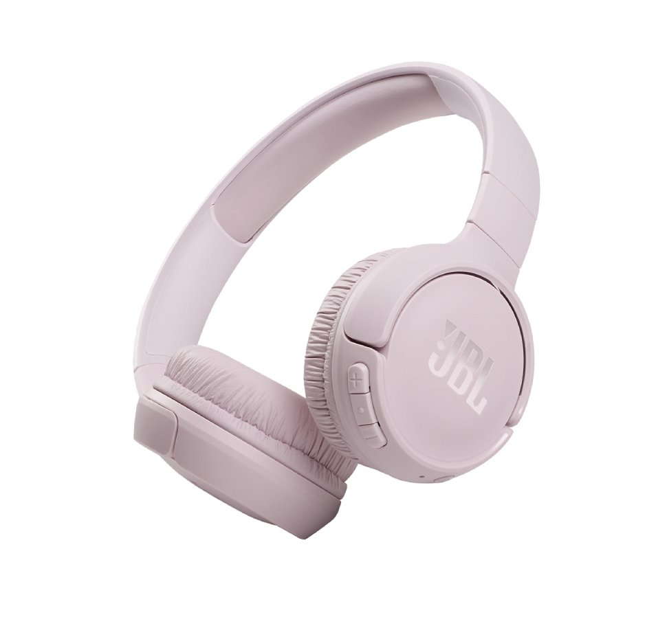 JBL Tune 510ΒΤ, On-Ear Bluetooth Headphones w Earcup control (Rose)