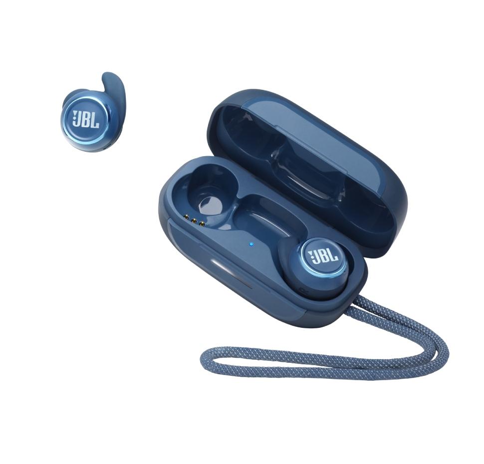 JBL Reflect Mini NC TWS, True Wireless In-Ear Sport Headphones, IPX7, (Blue)