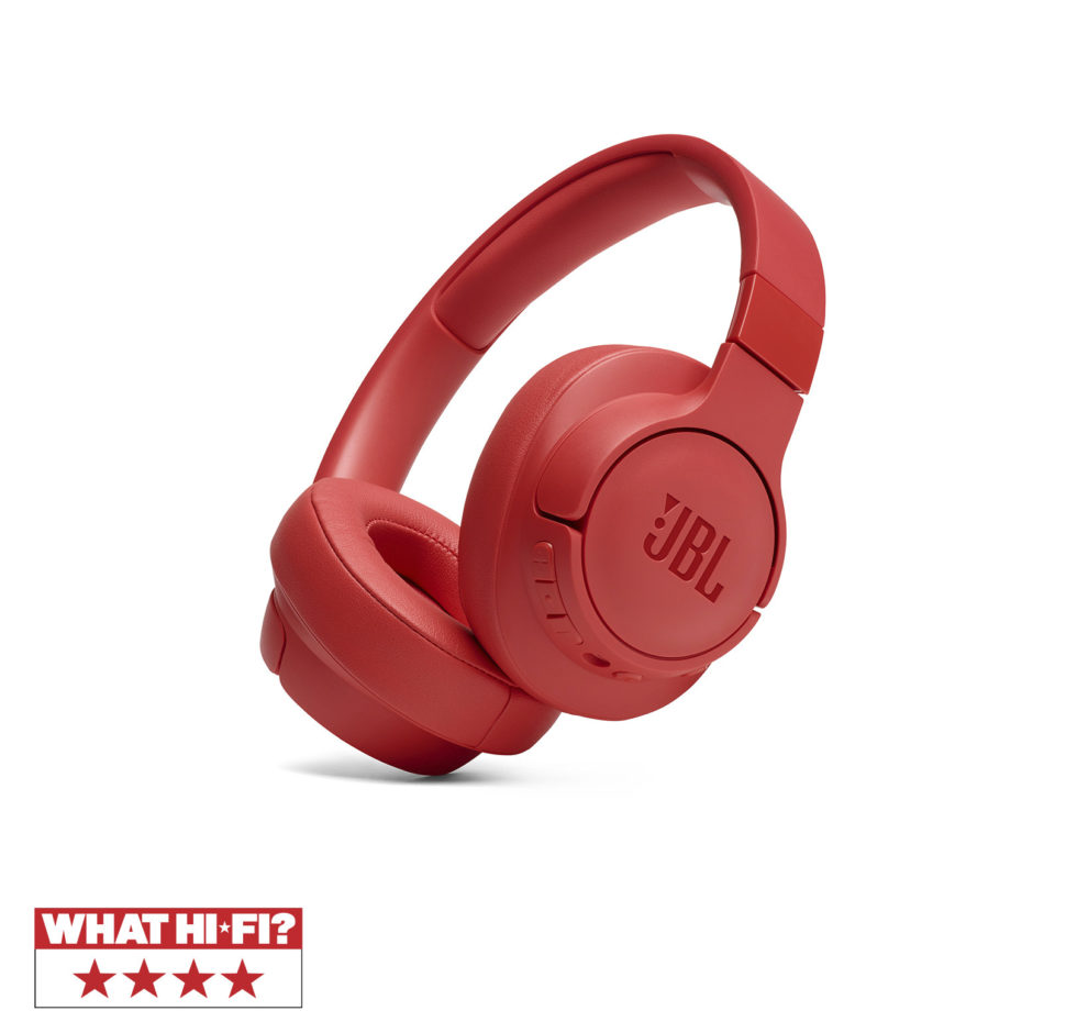 JBL Tune 750BTNC, Over-ear Bluetooth Headphones, Active Noise Cancelling, Multipoin (Coral)
