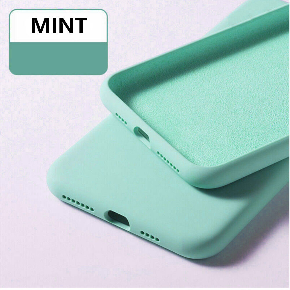 Ενισχυμένη Θήκη Σιλικόνης για Huawei y7 p Mint