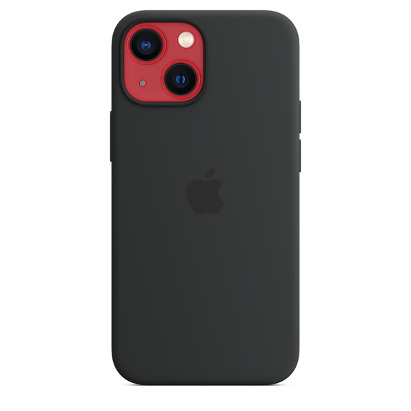 Apple Silicone Case iPhone 13 mini with MagSafe Midnight