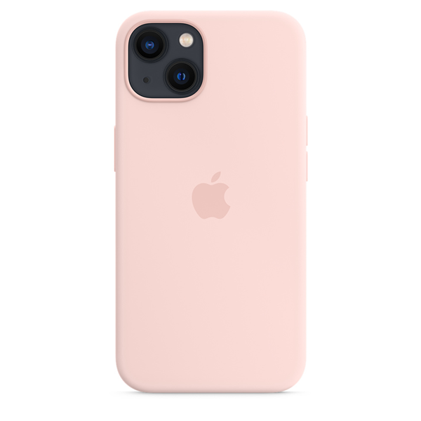 Apple Silicone Case iPhone 13 with MagSafe Chalk Pink