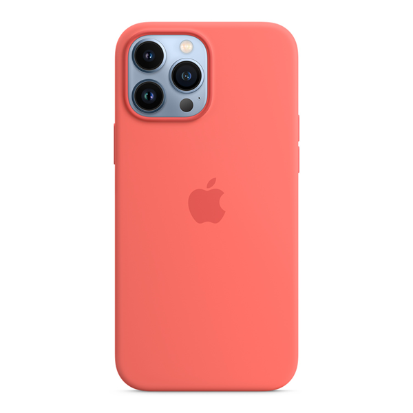 Apple Silicone Case iPhone 13 Pro Max with MagSafe Pink Pomelo