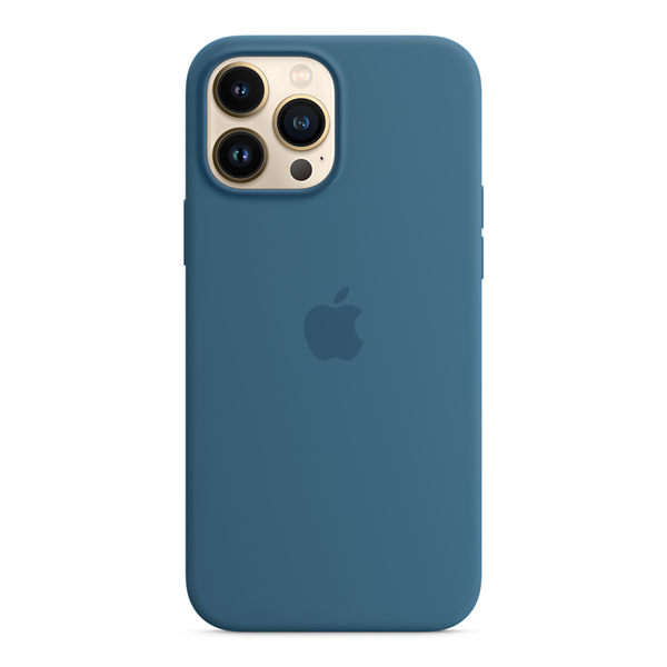 Apple Silicone Case iPhone 13 Pro Max with MagSafe Blue Jay